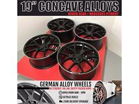 4 BRAND NEW ALLOYS WHEELS - FIT MERCEDES A B C E S CLASS C63 AMG - NO SPACERS NEEDED