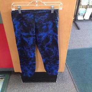 Calvin Klein Quick Dry Running Pants M Blue/Black (SKU:AGNH64)