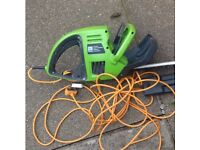 Re-advertised Electric Hedge trimmer 1m bar (Used condition)