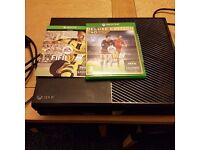 Xbox one 500gb with fifa 16/17