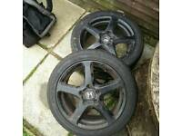 Alloys with good tyres