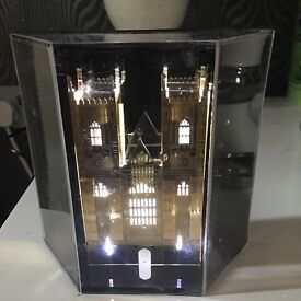 Ornaments church tower with lights £24