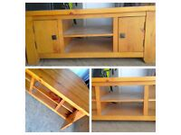 High Quality Solid PINE Corner TV UNIT - LOCAL FREE DELIVERY