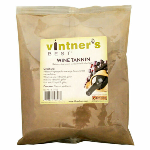 Wine Tannin, 1lb. Food Grade Wine Tannin, Wine Tannin
