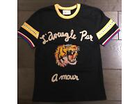 Gucci Tiger embroidered front SIZE M, L Available