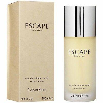 ESCAPE * CK Calvin Klein * Cologne for Men * 3.4 oz * NEW IN BOX Calvin Klein Escape