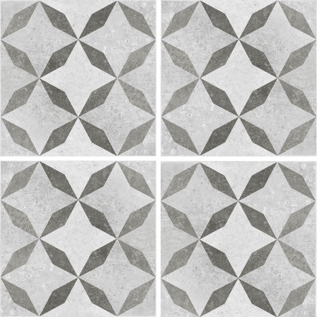 British ceramic tile floor wall tiles concrete patterned mosaic british ceramic tile floor wall tiles concrete patterned mosaic bathroom hallway brand new dailygadgetfo Choice Image
