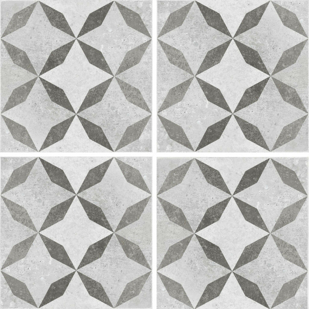 British Ceramic Tile Floor Wall Tiles Concrete Patterned Mosaic