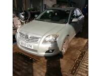 Toyota Avensis 2007 turbo diesel gold all parts available bumper headlight bonnet engine