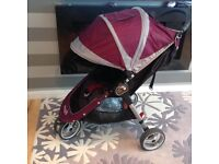 Baby jogger city mini pram/stroller/pushchair/buggy in great condition
