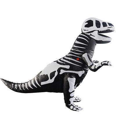 Dinosaur Kostüm Aufblasbares Anzug Luft Kostüm für Kinder zum Cosplay Party