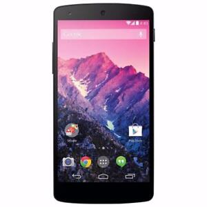 LG Nexus 5, 16 GB, Black, Unlocked, working Condition, WIND COMPATIBLE