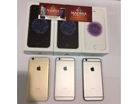 APPLE IPHONE 6 128GB UNLOCKED BRAND NEW CONDITION COMES WITH WARRANTY & RECEIPT