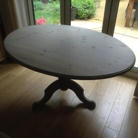 Solid Pine Dinning Table