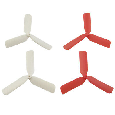 4 Pieces Airscrew Propellers for Hubsan RC Drone Aircraft Replacement Parts
