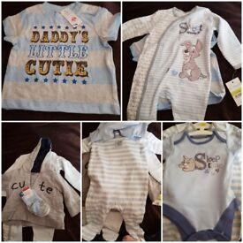 BNWT boys 0-3 & 3-6months clothes