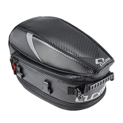 Motorcycle Luggage Tail Bag Rear Seat Back Saddle Helmet Pack Waterproof #1 for sale  Shipping to Canada