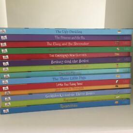 x14 Marks and Spencer First Readers Traditional Fairy Tales Books