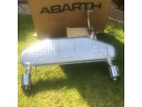 Fiat 500 595c Abarth exhaust