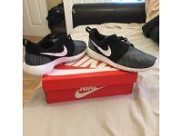 Nike Roshe one print trainers, UK Size 10