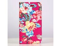 Magnetic Floral Printed case For iphone 5 /5S