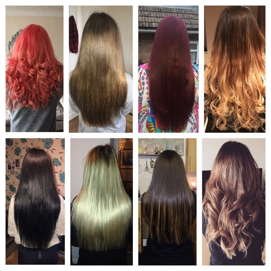 Micro Ring Hair Extensions Full Head All Enclusive 115 Micro Nano