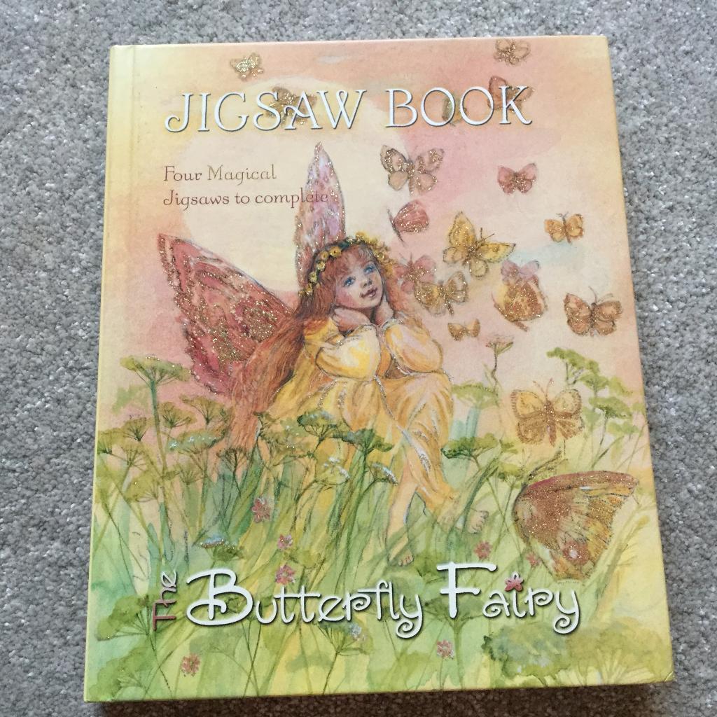 Fairy puzzle book