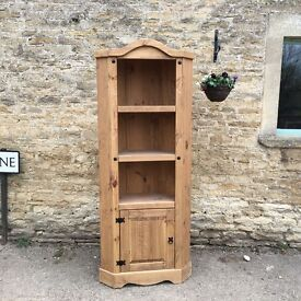 Lovely country cottage style corner cabinet