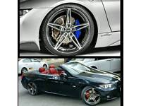 "Ac Scnitzer Alloys 19"" Diamond cut BMW Audi Mercedes"