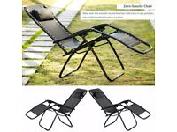 SALE! Set of 2 Outdoor Foldable Sun Lounger Chair Pool Lounge Chair SALE!