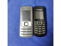 Nokia and Samsung phones