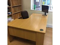 Office Desk and Chair (free)