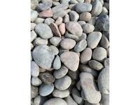 Scottish beech pebbles 30-50mm 1 ton bag