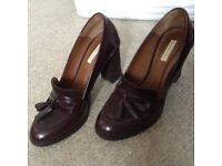 Massimo Dutti Ladies Loafers size 5