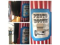 Photo booth Love Letters Candy cart and much more to hire