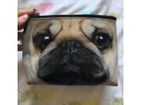 Catseye Pug Face Makeup Bag