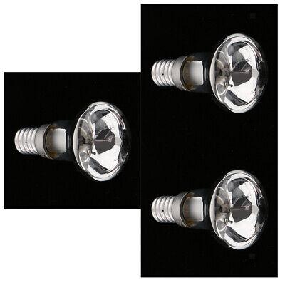 3 Stück 25W R39 E14 Reflektor Scheinwerfer Lampe Glühbirne für Lavalampen New