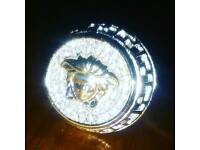 Brand new medusa silver pinky ring belt bags shoes shirt chain watch bracelet hat bike