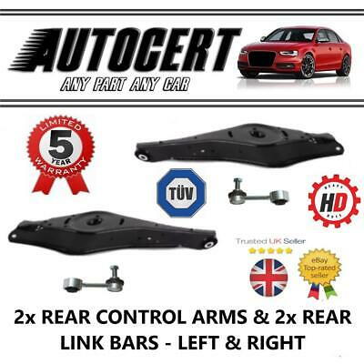 VW EOS 2011-2015 REAR LOWER SUSPENSION CONTROL ARMS / WISHBONES & LINKS  LH & RH