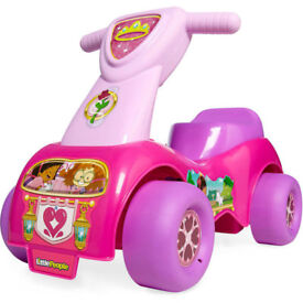 The Little People Push N Scoot Princess Ride-On Ages 1-3 Years.