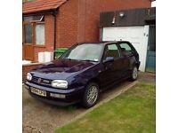 1998 Volkswagen MK3 Golf 2.8 VR6 3 Door VW Full Service History