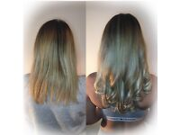 Hair Extensions Plymouth £200 full head