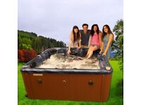 Brand New San Dimas II 5 Person Hot Tub, Bluetooth Speaker, Free UK Mainland Delivery & Installation