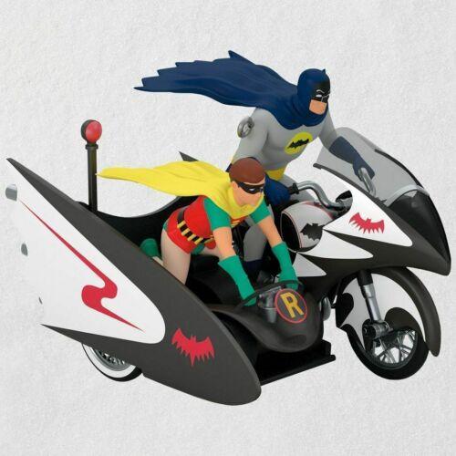 2018 Hallmark Keepsake BATMAN & ROBIN TV Series BATCYCLE Ornament New MIB FreeSh
