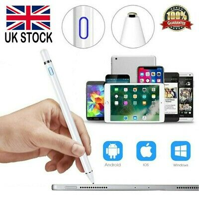 UK Pencil Touch Pen Stylus Tablet For iPad Pro Mini Air Android HUAWEI Microsoft