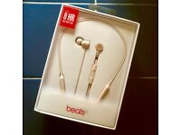 BRAND NEW Sealed DrDre Beats X bluetooth earphones matt Gold