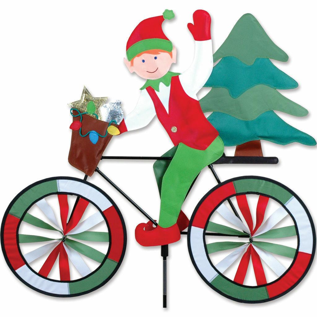 "New SunTex  Premier Kites & Designs 30"" Elf Bicycle Yard Spi"