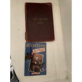 Scottish songs book