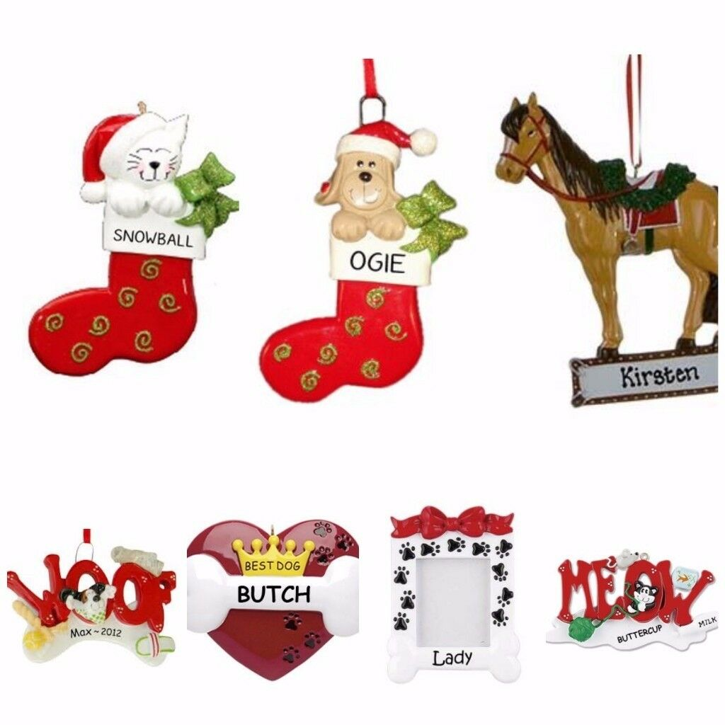 Pet Personalised Christmas Tree Decorations
