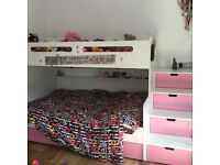 bunk bed small double and single
